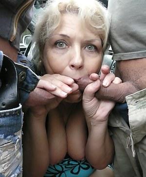 Granny blowbang